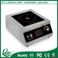 Buy cheap 3500w Commercial Stainless Steel Induction Cooker from wholesalers