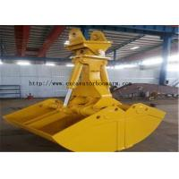 Buy cheap Rotating Clamshell Grab Bucket For Volvo 360 Excavator 1.8 Ton Grab Weight from wholesalers