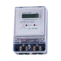 Buy cheap High Reliability 3 Phase 4 Wire Static Watt Hour Meter With 7 Digits LCD Display from wholesalers