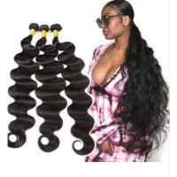 Buy cheap 28 Inch 100% Peruvian Virgin Hair Body Wave Hair Weave Bundles Extensions from wholesalers