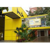Buy cheap Customized Design  Shipping Container Restaurant , Modern Container House Restaurant from wholesalers