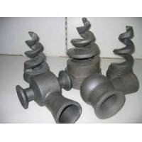 Buy cheap Reaction sintered Silicon Carbide Ceramic Burner, rollers,Tube, Plate,beams,liner bushing from wholesalers
