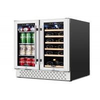 """Wholesale 24"""" Undercounter Dual Zone Wine and Beverage Fridges from china suppliers"""