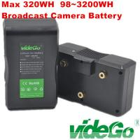 Quality Vidego V Mount Camera Battery Li-ion Battery for Sony Anton Bauer Battery V Mount Battery 160wh/190wh/230wh/290wh/320wh for sale
