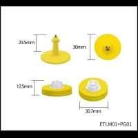Buy cheap Pig & Sheep ear tag / LF RFID / Small Size/ Laser printing available/ OEM & ODM from wholesalers