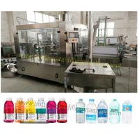 Buy cheap Beverage / Water Bottle Filling Machine With Constant Pressure Filling from wholesalers