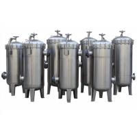 Buy cheap Single Multi Bag Filter Housing With Bead Blasting / Mirror Surface from wholesalers