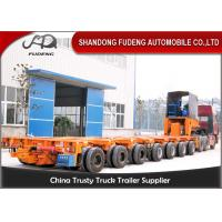 Buy cheap 16 Axles 8 Line Hydraulic Modular Heavy Equipment Trailers Large Generator Transport from wholesalers