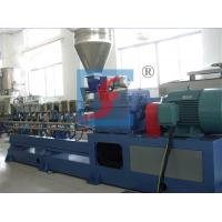 Automatic Parallel Plastic Co-Rotation Double Screw Extruders With CE / ISO / BV Manufactures