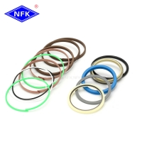 Buy cheap NFK ZX230-1 Fit Hitachi Excavator Spare Parts Repair Kit Hydraulic Cylinder Bucket Seal Kits from wholesalers
