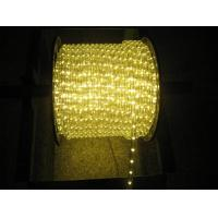 Buy cheap warm white led rope light for Christmas decoration from wholesalers