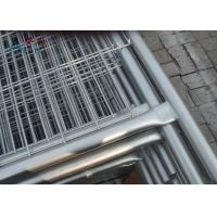 Buy cheap Round Tube Material Australian Temporary Fencing With Concrete Block And Clamp from wholesalers