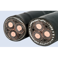 Buy cheap 1.5mm 2.5mm 4mm 25mm 50mm 2 core 3 core XLPE insulated PVC sheath copper Yjv22 Yjv23 wire electrical power cable from wholesalers