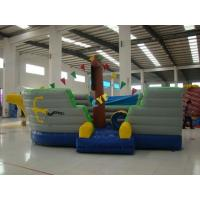 Buy cheap Inflatable Pirate Boat Combo 6x4m  Kids Outdoor Inflatable Pirate Ship from wholesalers