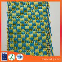 Buy cheap PP Woven fabric in straw wreath made with fabric squares from wholesalers