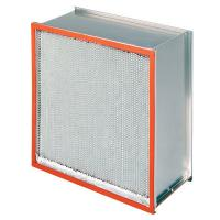 Wholesale 260℃ Heat Resistant Filter , Galvanized Iron Frame Air Filtration System from china suppliers