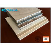 Buy cheap Customized Stone Facing Honeycomb Panel Of Wear-Resistant High-grade Furniture Decoration Materials from wholesalers