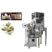 Wholesale VFFS Silk Nylon Pyramid Tea Bag Packing Machine With PLC Control System from china suppliers