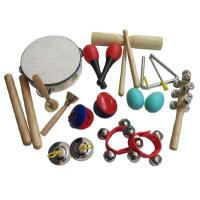 Buy cheap 11 pcs Toy percussion set / Educational Toy / kids gift / Carl orff instrument / Wooden Toy AG-ST11 from wholesalers