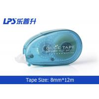Buy cheap Plastic PET Office Sticky Roller / Two Sided Glue Tape with Easy Touch Cap from wholesalers