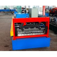 Buy cheap Automatical Steel Roof Panel Roll Forming Machine Use Cr12 Cutting Blade by Japan Panasonic PLC Control from wholesalers