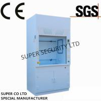 Buy cheap Polypropylene Chemical Laminar Flow Hood with Electric Socket for lab testing from wholesalers