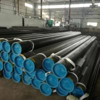 Buy cheap Round Carbon Steel Seamless Pipe API 5L Rust Proof Black Painting A53 Grade from wholesalers