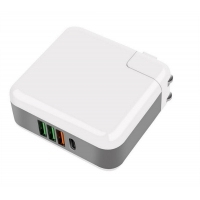 Buy cheap Iphone Type C 2 USB Ports 61W Multi Port USB Chargers from wholesalers