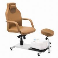 Buy cheap Elegant Pedicure Spa Chair with Washing Basin in 110 or 220V Voltage from wholesalers