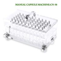 China Laboratory Manual Capsule Filling Machine Size 5 Capsule Filler 50 Pcs/Time on sale