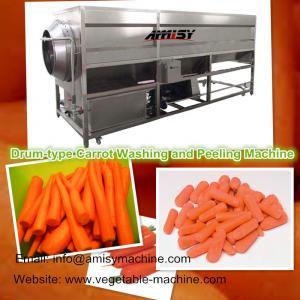 Drum-type Carrot Washing Peeling Machine Manufactures