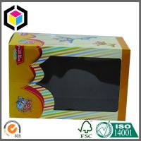 Buy cheap Plastic Window Cute Toy Corrugated Box; Custom Color Corrugated Packaging Box from wholesalers