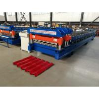 Wholesale 4 Meter / Min Servo Motor Glazed Tile Roll Forming Machine new style cutter from china suppliers