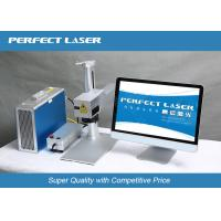 Energy Saving 10w Fiber Laser Part Marking Machines For Metal / Stainless Steel Manufactures