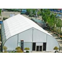Buy cheap Big Curve 20 Meter Clear Span Tent Unit Combined Structure Easy Assemble from wholesalers