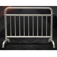 Buy cheap Fixed Leg Interlocking Metal Fence Accessories Stainless Steel 304 316 Barricade For Concert from wholesalers