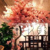 Wholesale Fiberglass , Wood Material Artificial Blossom Tree For Office Buildings from china suppliers