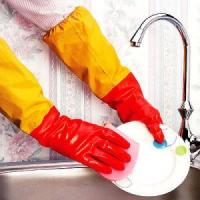 Buy cheap Household Two Colos Latex Glove from wholesalers