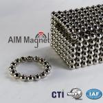 Buy cheap Strong neodymium sphere magnet N35 Nickel coating from wholesalers