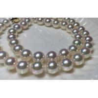 Buy cheap 7.5-8mm  Luxury Genunie akoya Pearl strand AAA quality from wholesalers