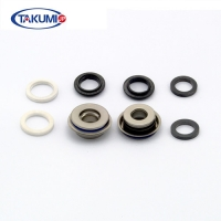 Buy cheap Double Silicon Carbride Ring Mechanical Seals E12A12 Automotive Water Pump from wholesalers