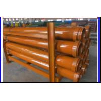 Buy cheap Tremie Pipe Drilling Rig Tools Concrete Pump Pipe Threaded Joints Wire Cable Joints from wholesalers