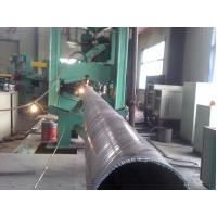 Buy cheap EN 10219 / BS 1387 Spiral Welded Hot Rolled Steel Pipes For Shipbuilding / Electricity from wholesalers