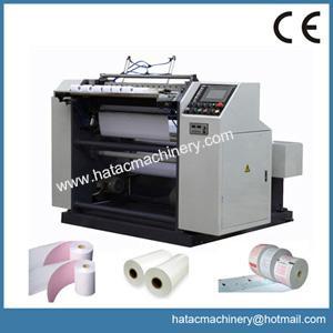 China High Precision Movie Ticket Slitting Rewinding Machine,Boarding Paper Slitting Machine,Thermal Paper Slitter Rewinder on sale