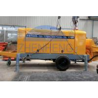 Wholesale Rubber Hose Diesel Concrete Pump Equipment 360l Oil Tank Capacity Custom Color from china suppliers
