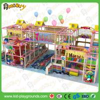Buy cheap Hot sale Interesting Indoor Playhouse Plastic Slides Equipment for Children Soft Playground Equipment for Kids Zone from wholesalers