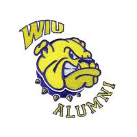 Wholesale Embroidery Digitizing Services alumni bull dog head WAO9c04 from china suppliers