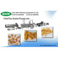 Buy cheap Food Grade Stainless Steel Automatic Fried wheat flour snacks machinery from wholesalers