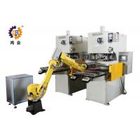Wholesale PLC / MMI Control Hydraulic Punching Machine With Robot Manipulator from china suppliers