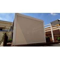 Buy cheap Motorized Garden Waterproof Roller Shades Zip Screen Protection For Swimming Pool from wholesalers